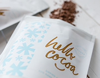 Packaging: Hello Cocoa Sipping Chocolate