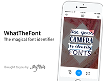 The new WhatTheFont app