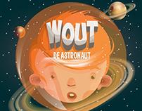 Wout de astronaut (illustrations)
