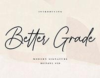 FREE | Better Grade - A Modern Signature Script