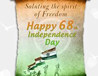 Govt of india e-greetings design