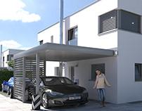 Housing Estate inItingen - Switzerland