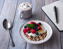 A Collection of Food Photographs