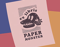 Illustrations for PAPER MONSTER | 2018-2019
