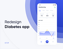 Diabetes app - UI/UX Redesign