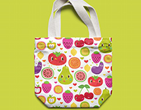 Reusable Bag designed for a Swiss supermarket