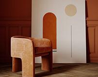Ocher room