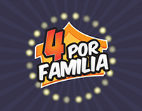 Programa Concurso 4 por Familia