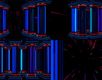 Neon Columns - VJ Loop Pack (3in1)