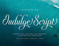 Indulge Script | Font