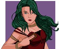 Camula Lady Vampire