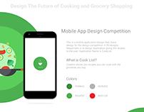 Cook List - Food Recipe Mobile Application