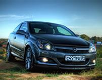 Opel Astra H GTC, Ромашково