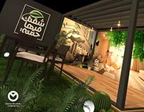 ALRIYADH-MISR Booth Design