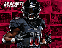 2016 North Central College Huddle Promotional Materials