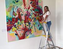 Paintings for Jong Skole