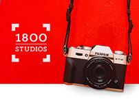 1800 Studios Brand Identity Design