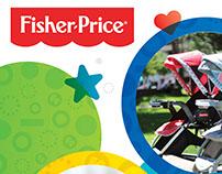 Linea infantil Fisher Price.