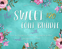The Sweet Font Bundle