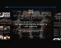 Donuts Shop Website Design