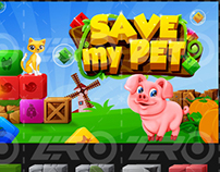 Save My Pet - Mobile game graphic and UI design