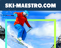 Ski instructor's personal web page