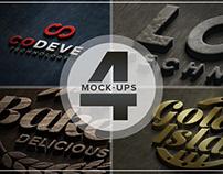 Authentic Logo Mix Mockups Vol. 04