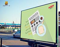 AD campaign for Dawn Bread.