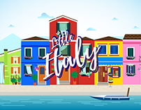 Litte Italy - Motion graphic