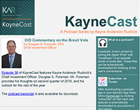 New Brand KayneCast Email Campaign