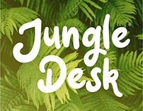 Jungle Desk. We turn workplaces into inspiring jungles!