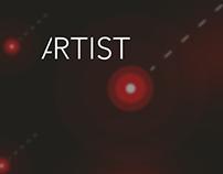 Artist - webdesign