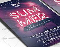 Summer Celebration Flyer - PSD Template