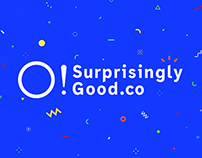 Surprisingly Good - Visual Identity 2015