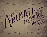 Animation Techniques: Compilation