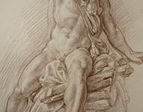 Crayon VAN-DYCK-BROWN 30 x 42 cm