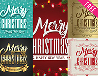 Free Christmas Poster PSD Template