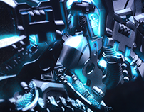 Transformers Bumblebee // 30.000 Edition CGI