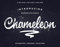 Chameleon • Brush Script