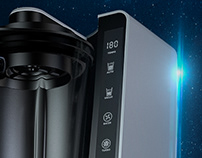 Vacuum Blender 3D