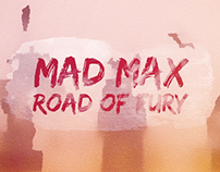 Mad Max: Fury Road - Watercolor