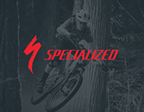 Specialized Bikes Website Redesign