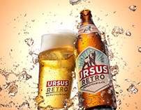 URSUS RETRO splash