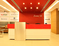 INTERIOR FOR ZONE18 GARMENTS