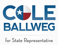 Cole BallWeg For State Rep Logo Design