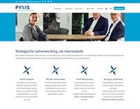 Merkconcept / webdesign PYXIS