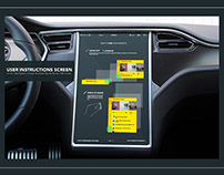 Tesla screen walkthrough
