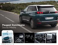 Redes Sociales Peugeot Dominicana