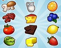 Cooking Bingo- Items