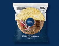 Greek Pitta Bread - Packaging